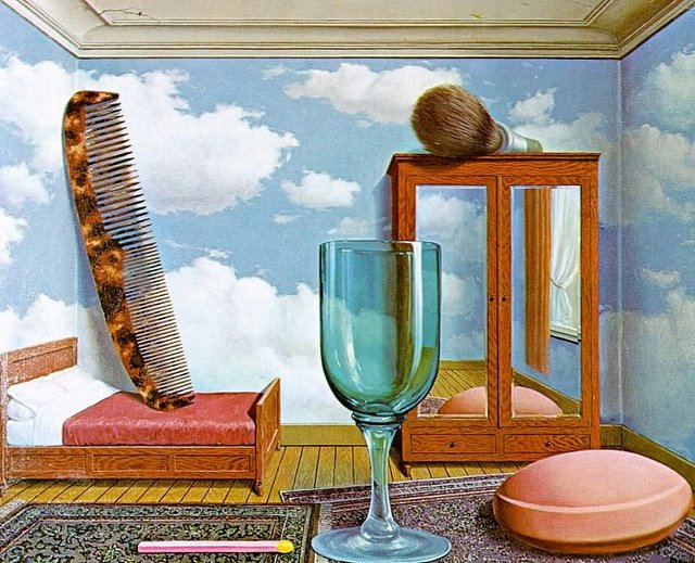 Rene Magritte 'Personal Values'